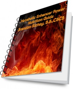 Metabolic Enhancer Power Nutrition Guide | Brandon Richey Fitness