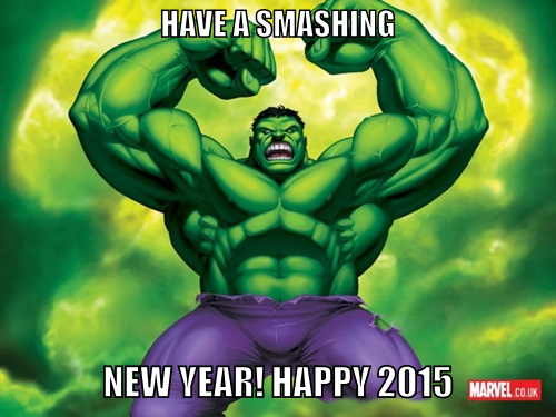 Hulk New Year