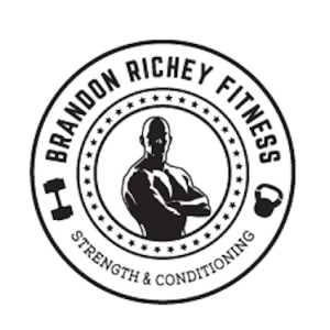 Brandon Richey Fitness logo for customized online coaching