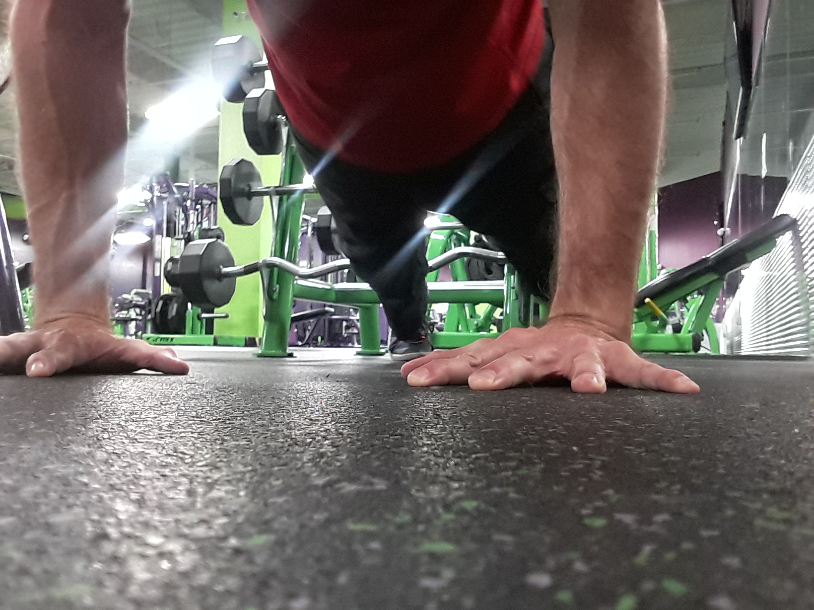 The Correct Hand Position For Your Push-ups