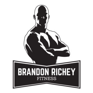 Brandon Richey Fitness ghost man logo for HIIT Workouts